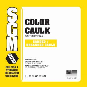 SGM — Color Caulk