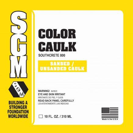 SGM — Color Caulk