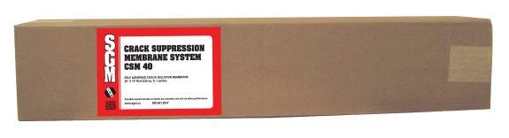 SGM — Crack Suppression Membrane System (CSM 40) — Roll (Box)