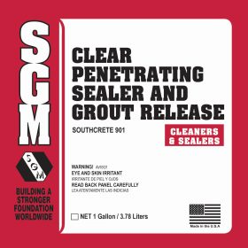SGM — Clear Penetrating Sealer and Grout Release