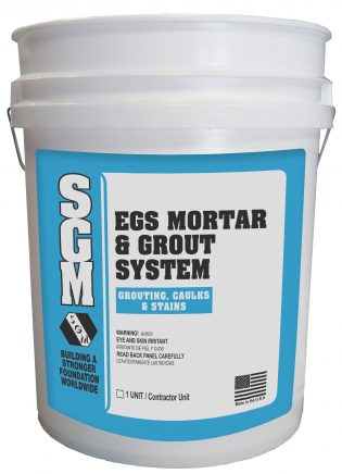 SGM — EGS Mortar Grout System (Pail)