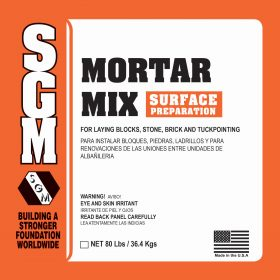 SGM — Mortar Mix Surface Preparation