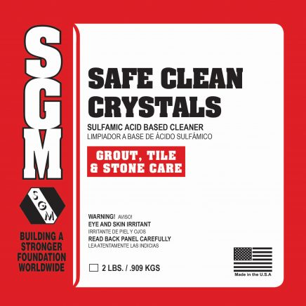 SGM — Safe Clean Crystals
