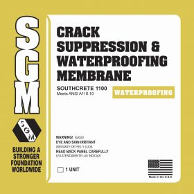 SGM — Southcrete™ 1100 Crack Suppression and Waterproofing Membrane