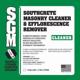 SGM — Southcrete™ Efflorescence Remover and Cleaner