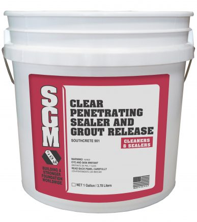 SGM — Clear Penetrating Sealer and Grout Release (Pail)