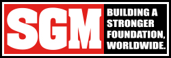 SGM, Inc. — Footer Logo with Tagline