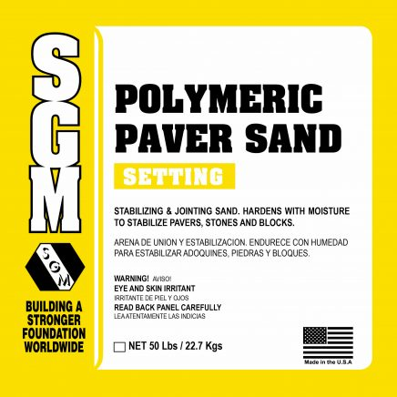 SGM — Polymeric Paver Sand (PPS)