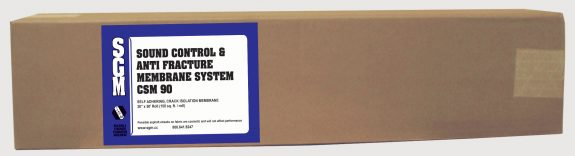 SGM — Sound Control and Anti-Fracture Membrane System (CSM 90) — Roll (Box)