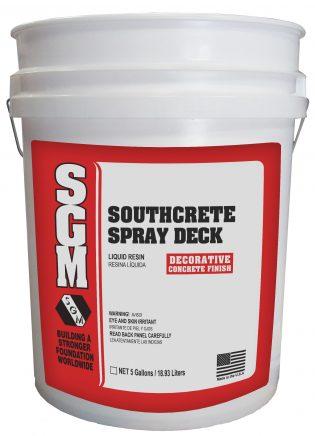 SGM — Southcrete™ Spray Deck System (Pail)