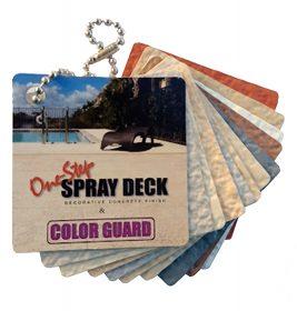 SGM — One-Step Spray Deck — Keychain