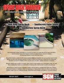 Spray Deck Flyer