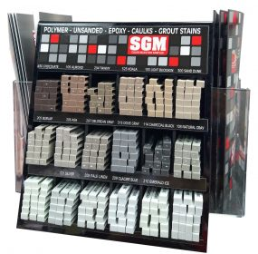 SGM — Grout Spinner Rack