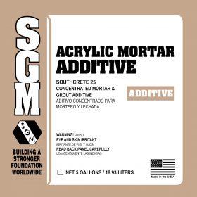 SGM — Southcrete™ 25 Acrylic Mortar Additive