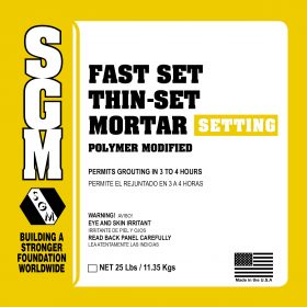 SGM — Fast Set Thin-Set Mortar (Polymer Modified)