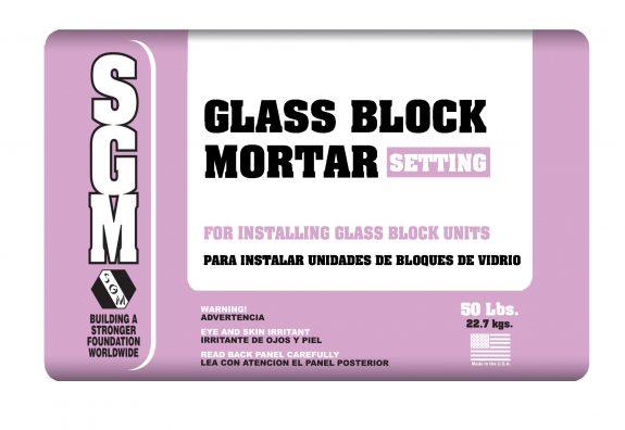 SGM — Glass Block Mortar (Bag)
