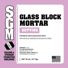 SGM — Glass Block Mortar