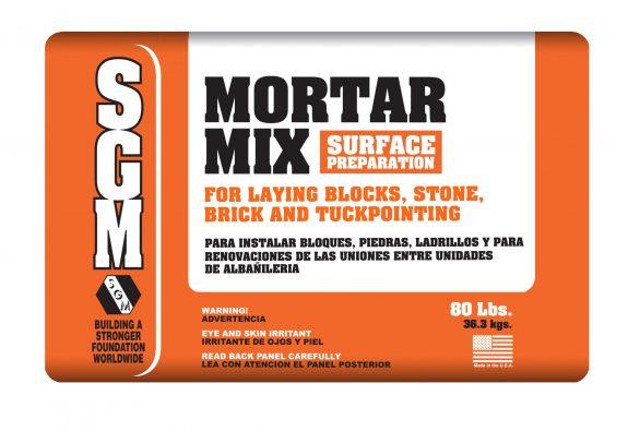 SGM — Mortar Mix Surface Preparation (80-Lbs. Bag)