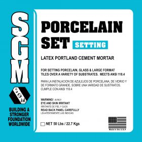 SGM — Porcelain Set Mortar