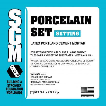 SGM — Porcelain Set Mortar