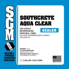 SGM — Southcrete™ Aqua Clear 100% Acrylic Waterproofing Paver Seal / Finish
