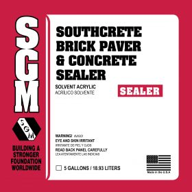 SGM — Southcrete™ Brick Paver and Concrete Sealer