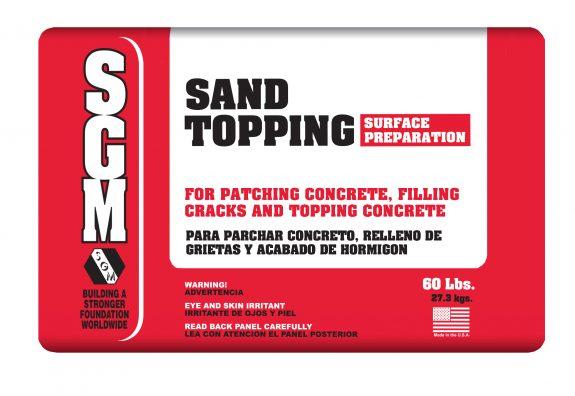 SGM — Sand Topping (Bag)