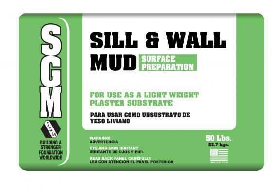 SGM — Sill and Wall Mud (821) — Bag
