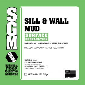 SGM — Sill and Wall Mud (821)