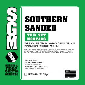 SGM — Southern Sanded Dry-Set Portland Cement Mortar 737/738