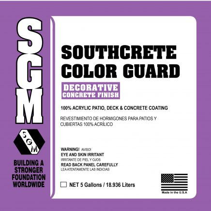 SGM — Southcrete™ Color Guard Stain / Sealer