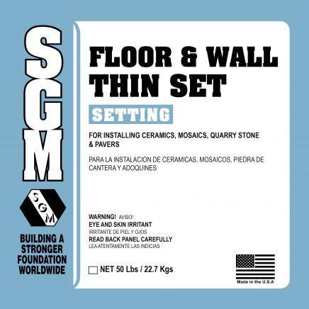 SGM — Floor and Wall Thin-Set Mortar (726/727)