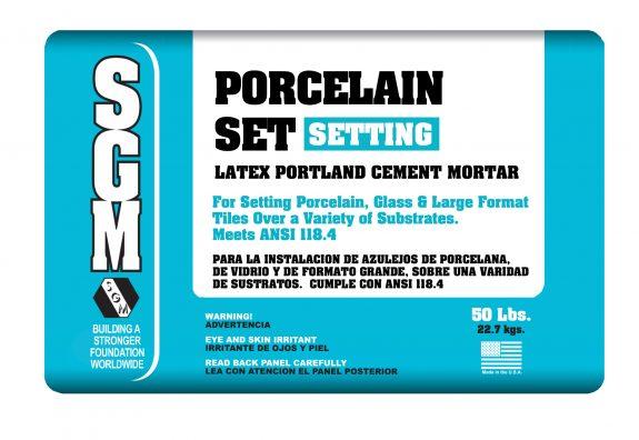 SGM — Porcelain Set Mortar (Bag)