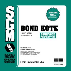BOND-KOTE™ — Surface Preparation — Part A