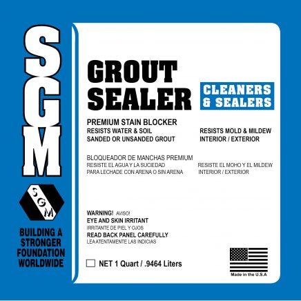 SGM — Grout Sealer (Label)