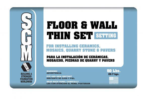 SGM — Floor and Wall Thin-Set Mortar (726/727) — Bag