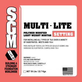 SGM — Multi-Lite Polymer Modified Light-Weight Mortar