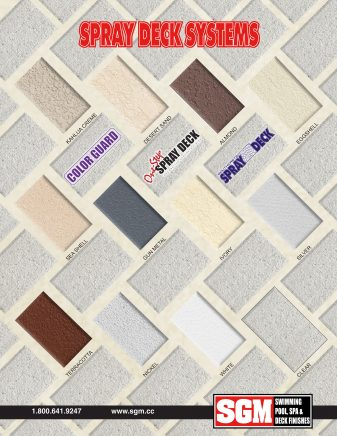 Spray Deck Color Chart 2021